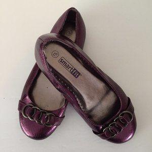 Purple Slip-On Shoes Size 1 1/2